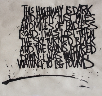 Calligraphy, Lyrics From City And Colour